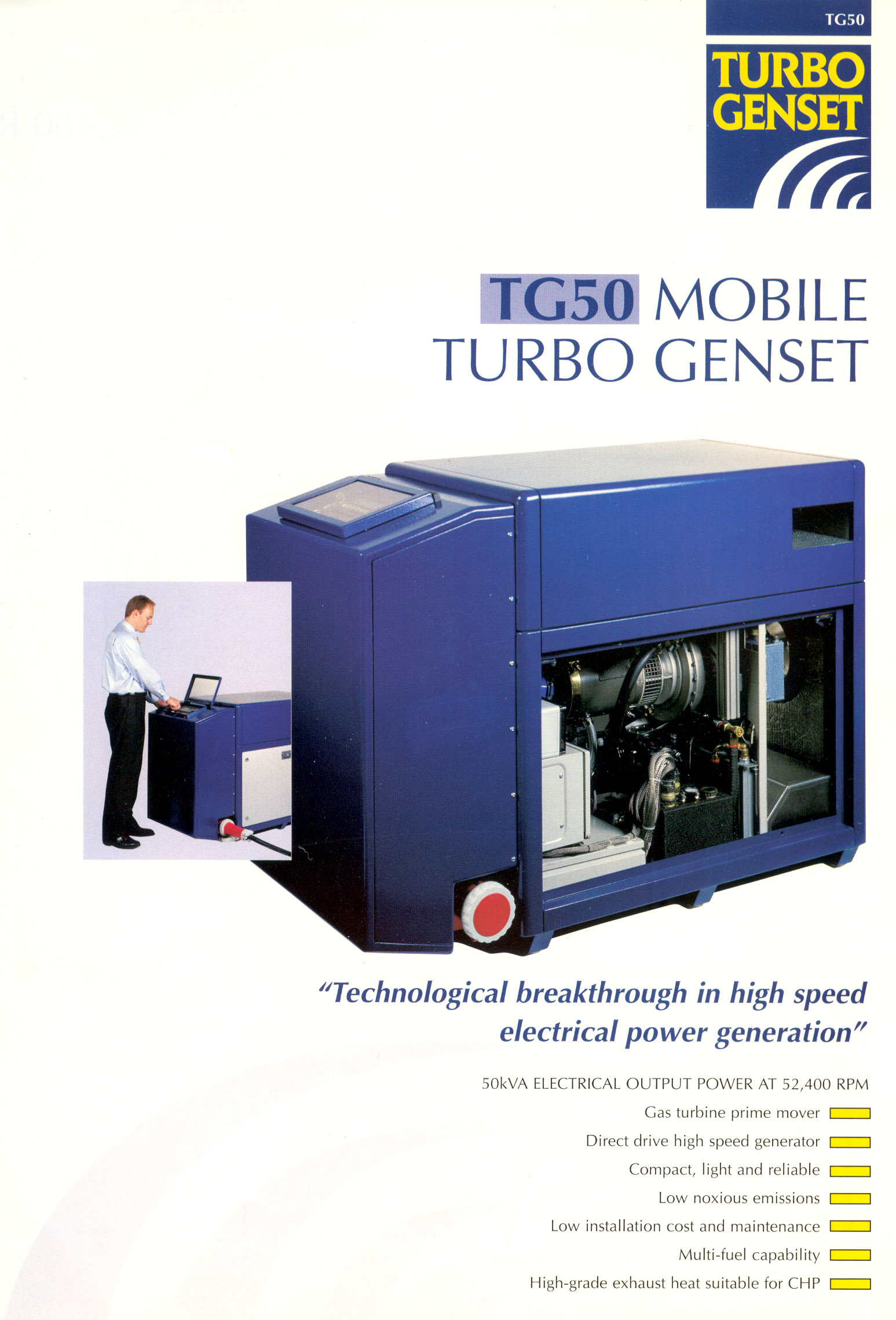 The Turbo Genset pany Microturbine